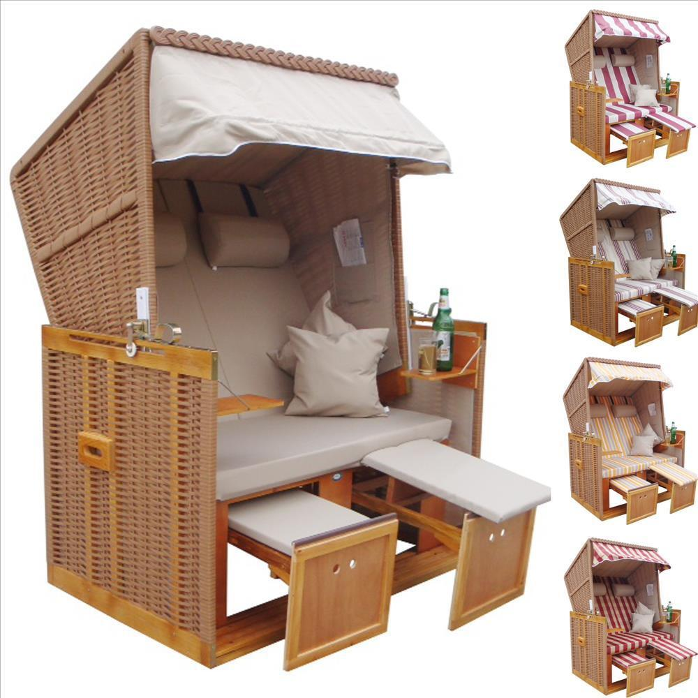 strandkorb nordsee version sylt beige nbe ebay. Black Bedroom Furniture Sets. Home Design Ideas