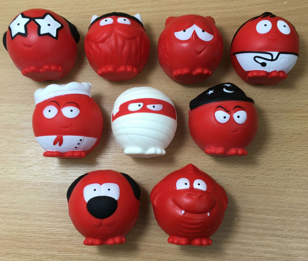 red nose day 2017 comic relief complete set of 9 noses
