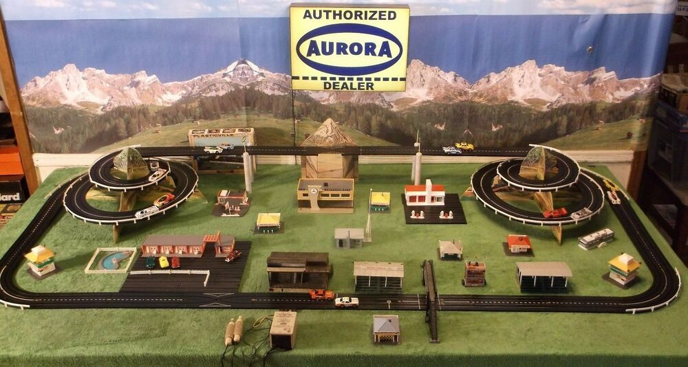 Aurora Slot Car Race Track