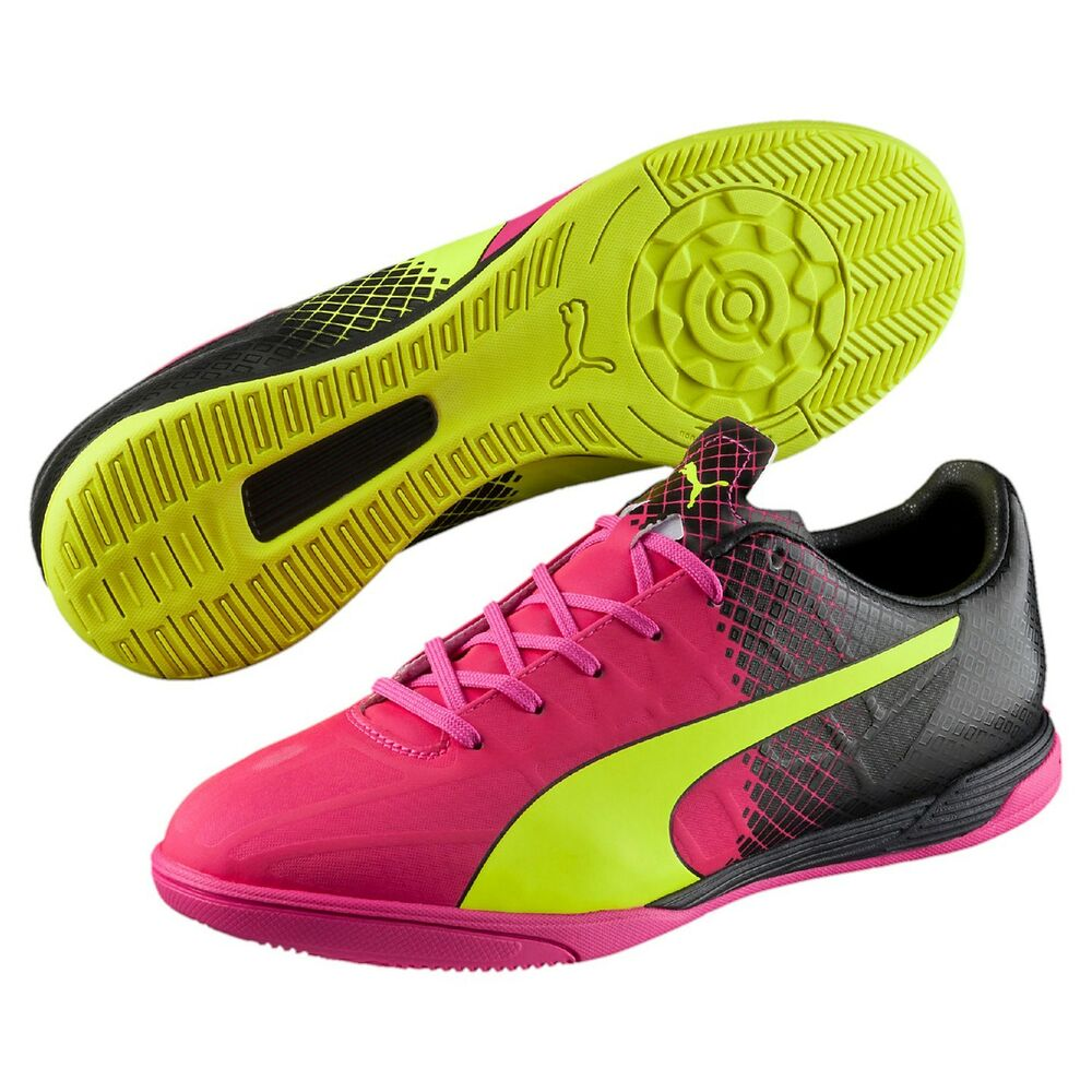 278a445fe851 Details about Puma EvoSpeed 4.5 IT Tricks Indoor Soccer Shoes - Cleats  103595-01 $70 Retail