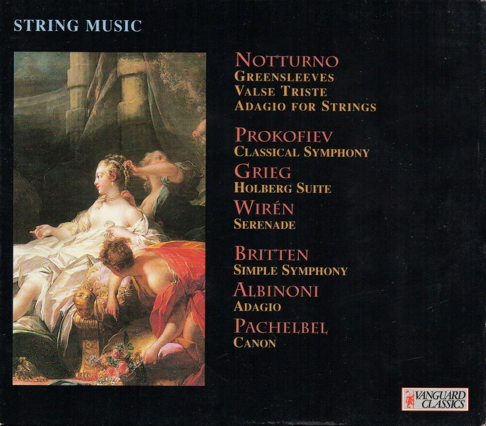 String Music - Vanguard Classics - English Chamber Orchestra ...