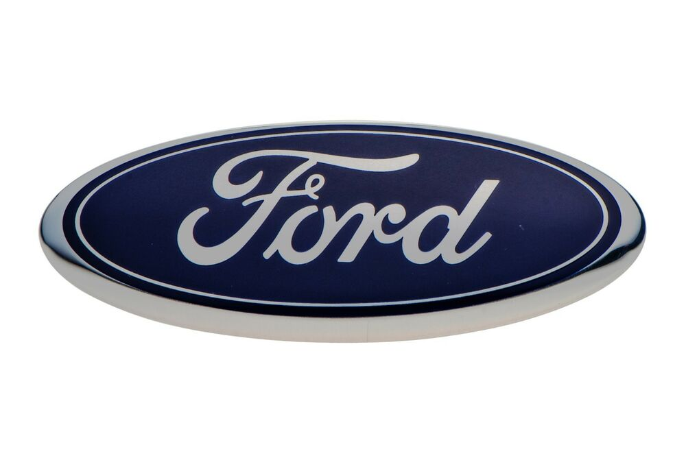 2006 2013 Ford Front Grille Blue Ford Oval Emblem Escape