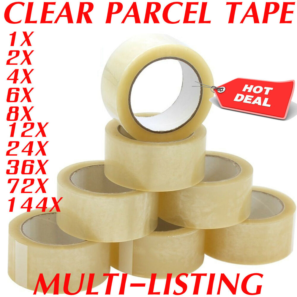 Clear Strong Parcel Packing Tape Cartoon Sealing 48mm X