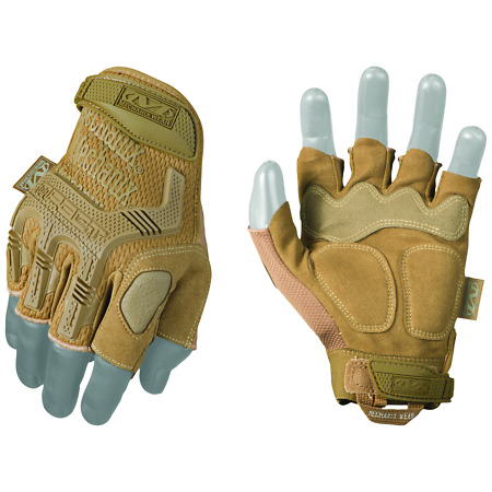 img-Mechanix MPACT Coyote Fingerless MILSPEC Tactical New for 2017 - Free Delivery!