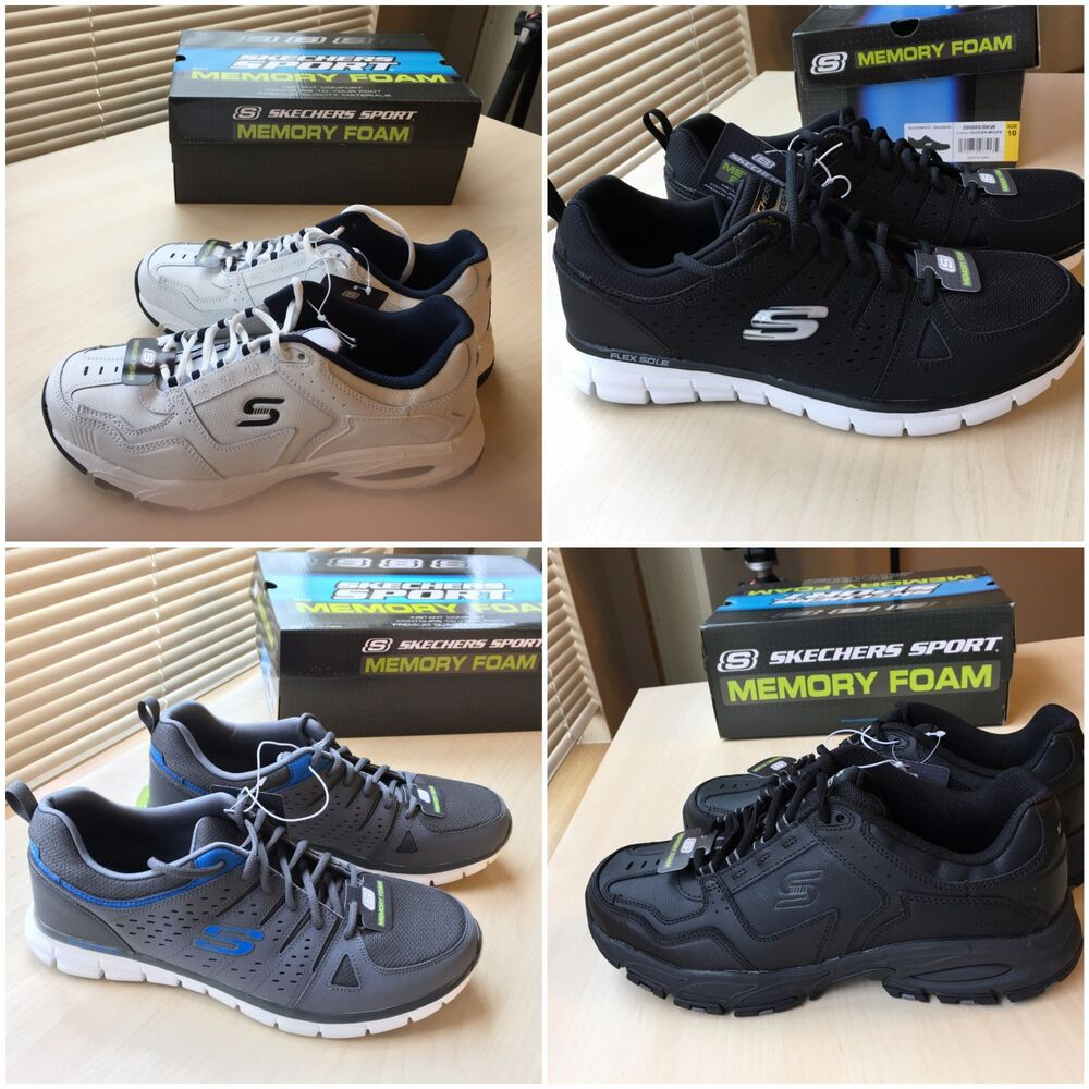 73b26f1961299 Details about Skecher's Men's Active Shoes with memory foam