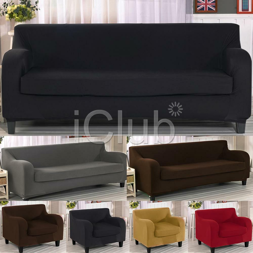 1 2 3 seaters sofa slipcover stretch protector soft couch