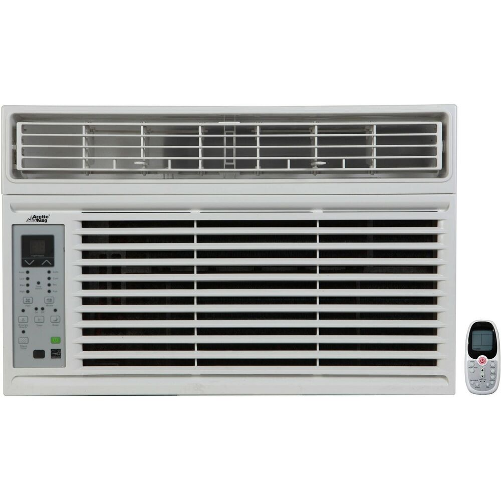 arctic king 5000 btu air conditioner ac window with remote control white ebay. Black Bedroom Furniture Sets. Home Design Ideas