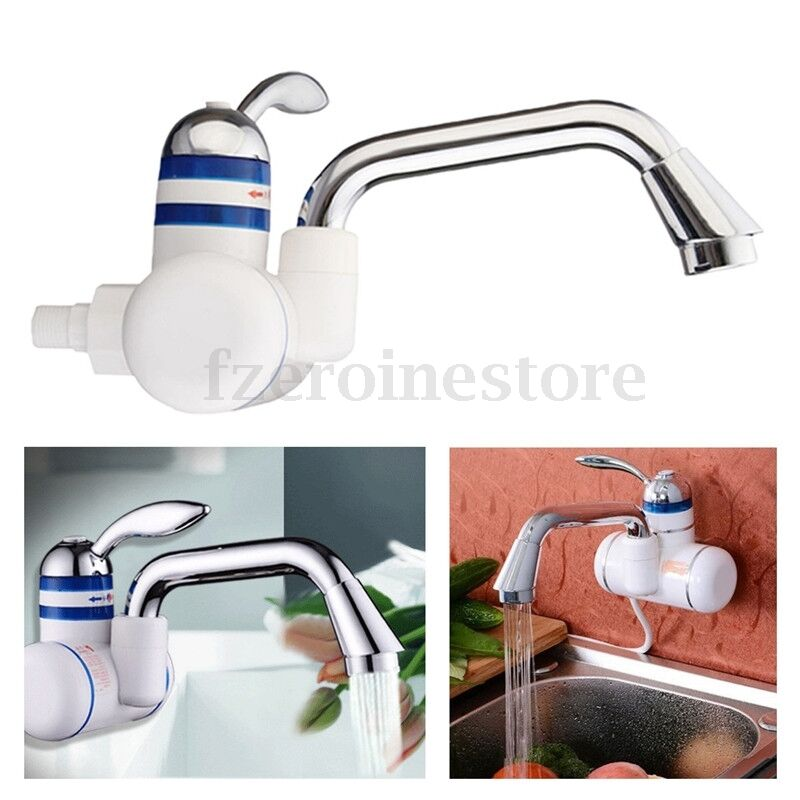Instant Electric Hot Water Heater Faucet Bathroom Kitchen