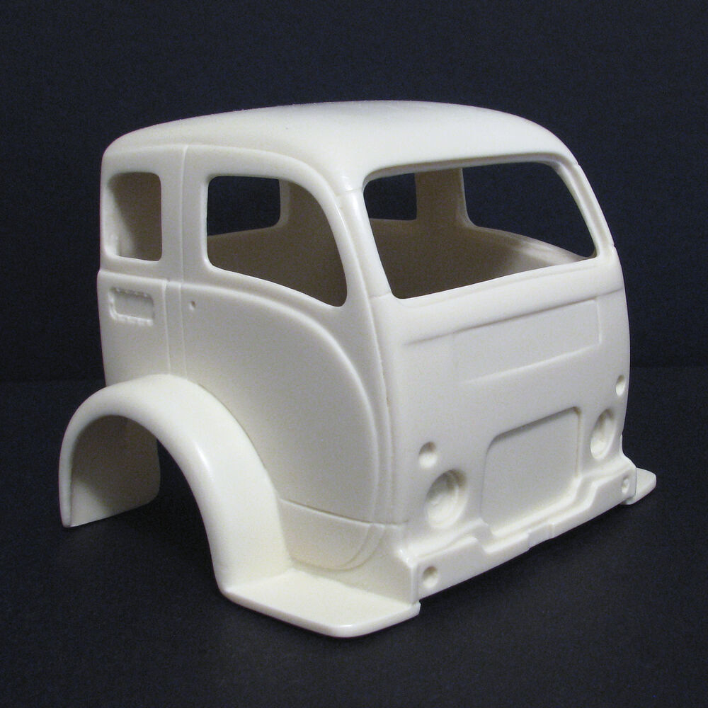 1970 Chevy Pickup >> Jimmy Flintstone '50's White Truck Cab-Over Resin Body ...