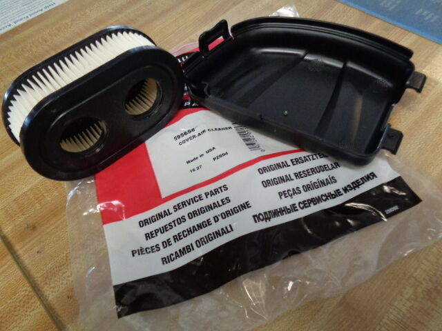 BRIGGS 2 HOLE AIR FILTER 798452 & 595658 COVER MTD ...
