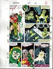 Original 1990 Avengers 318 Marvel Comics color guide art:100's MORE IN OUR STORE