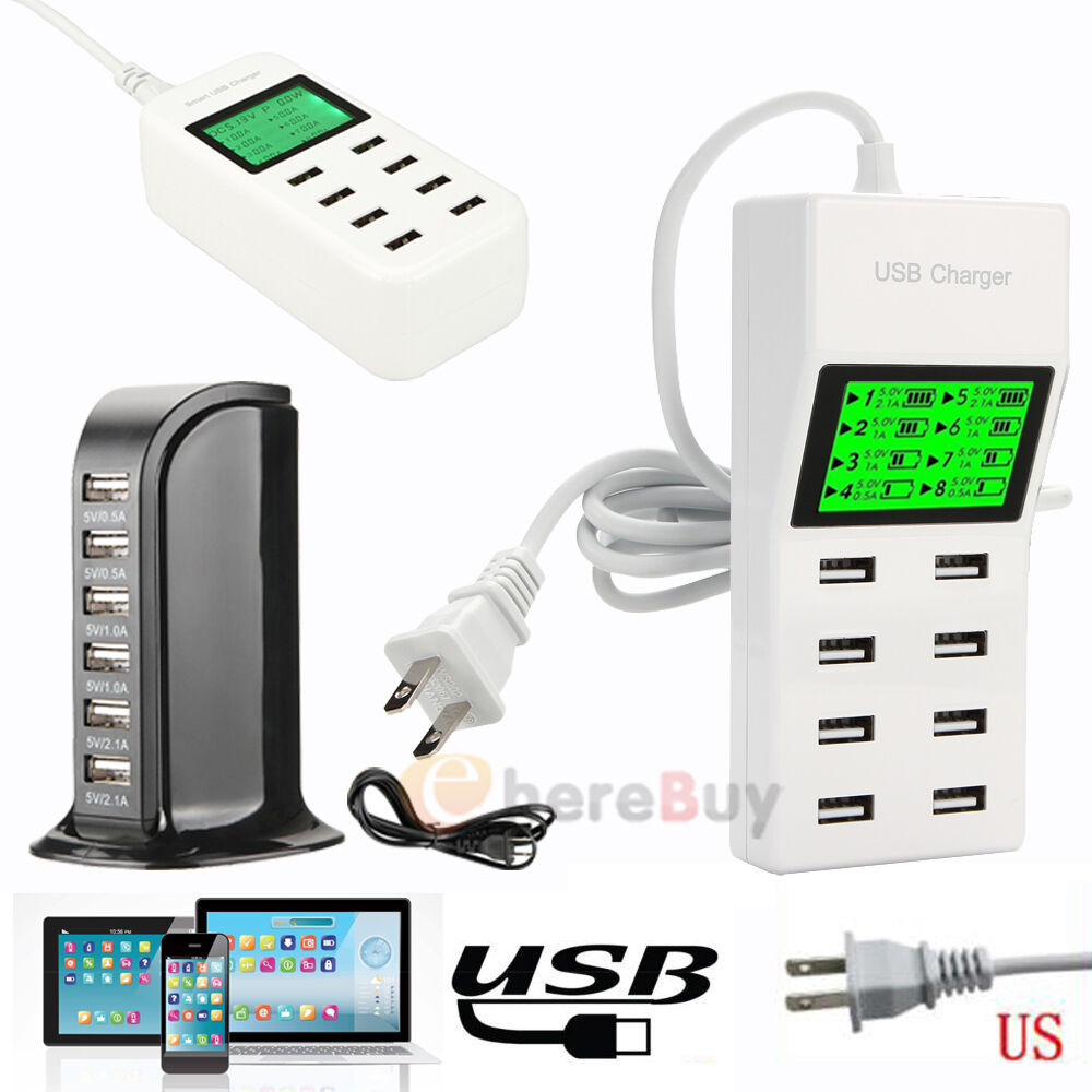 iphone wall charger multi port universal usb travel wall charger power adapter 5379