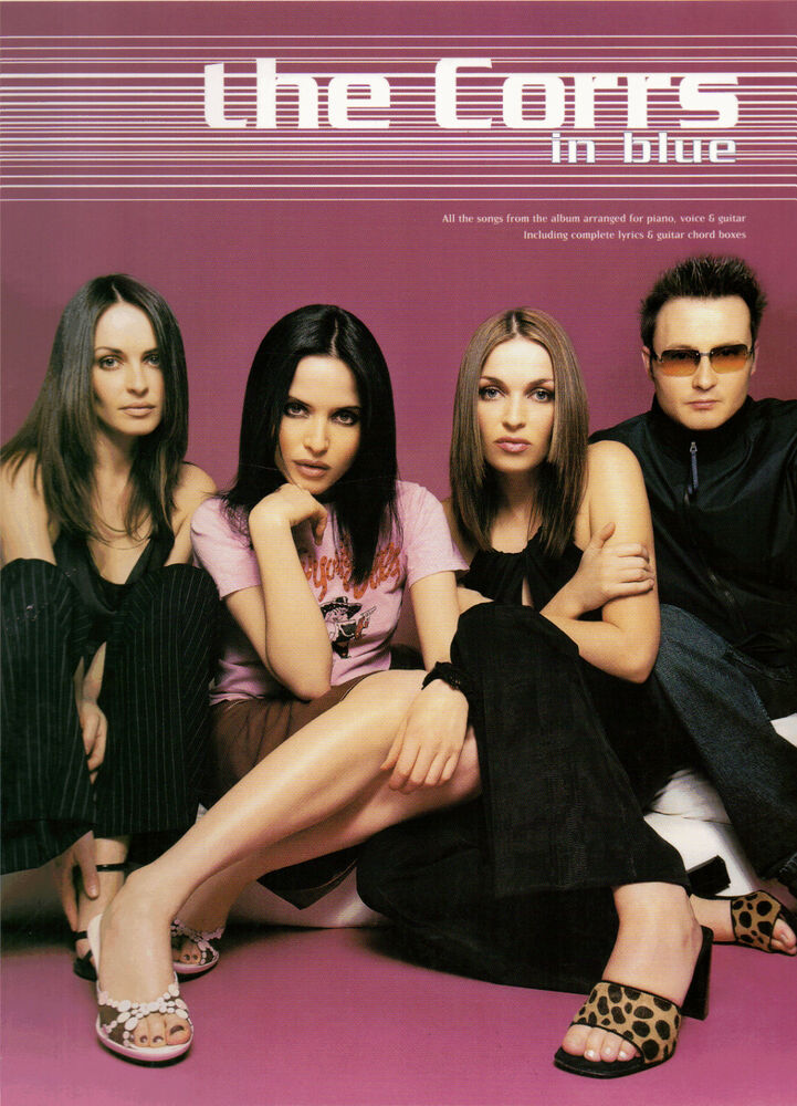 The Corrs In Blue Piano Vocal Guitar Sheet Music Book Pvg Songbook