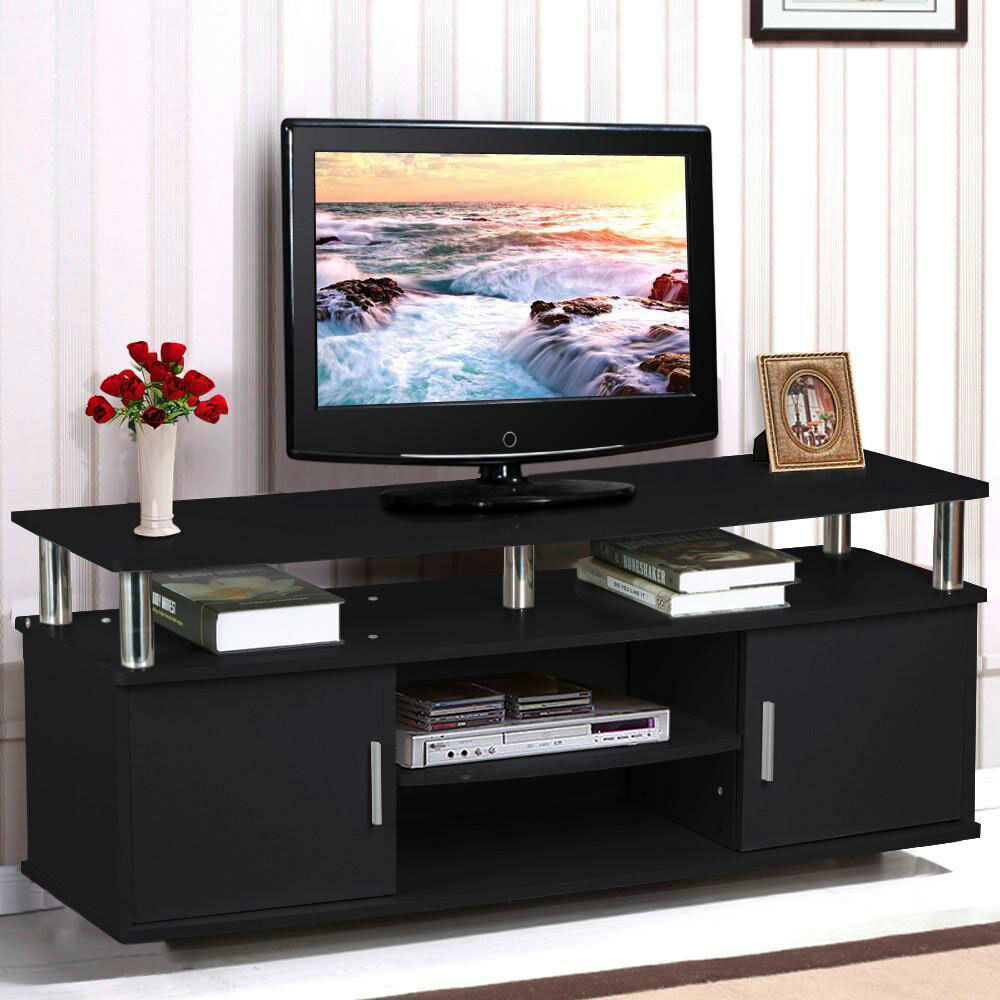 Tv Storage Furniture: TV Stand Entertainment Center Media Console Home Furniture