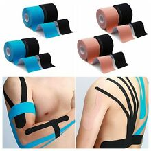 4pcs Waterproof Kinesiology Tape Sports Muscles Care Elastic Physio Therapeutic