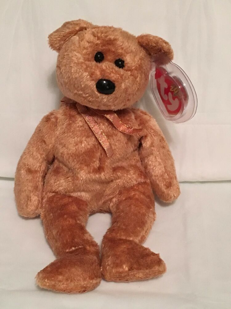 9af8ef1a847 Details about TY Beanie Baby - CASHEW the Bear - Pristine with Mint Tags -  RETIRED