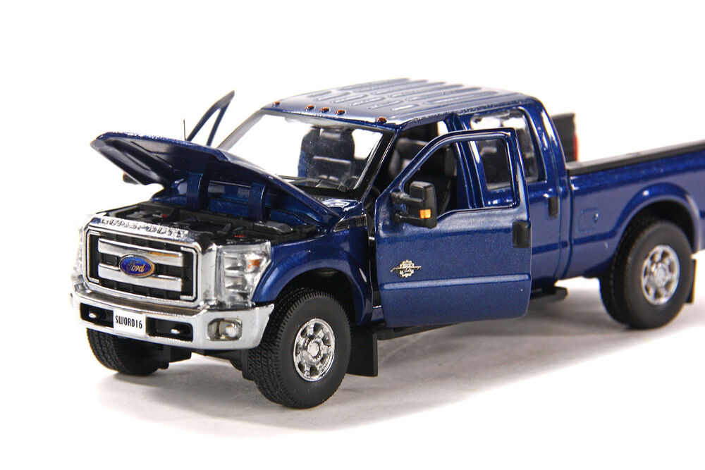 """F250 King Ranch >> Ford F250 Crew Cab 6 Ft Bed - """"BLUE"""" - Chrome Wheels - 1 ..."""