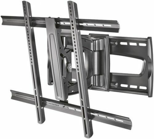 new rocketfish 40 65 inch full motion tv wall mount flat panel ebay. Black Bedroom Furniture Sets. Home Design Ideas