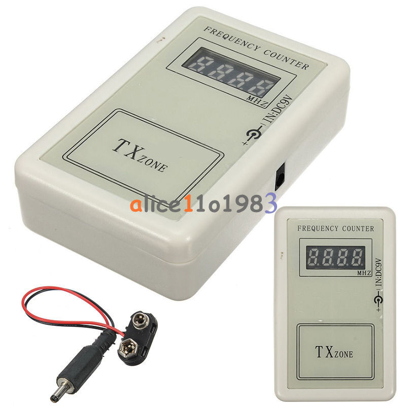How A Frequency Counter Works : Portable frequency counter digital led for calibrate