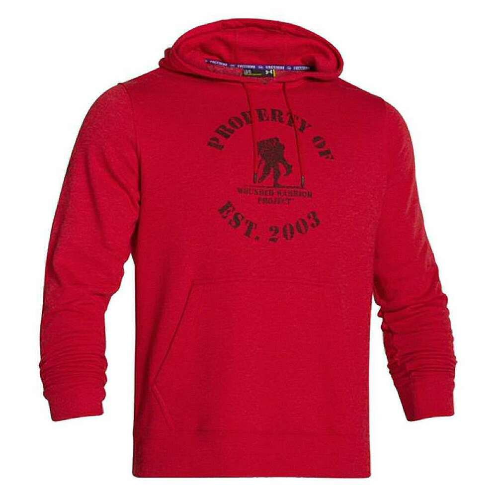 1f240777bb1 Details about Under Armour UA WWP Wounded Warrior Project Property Of  Fleece Hoodie 1246312