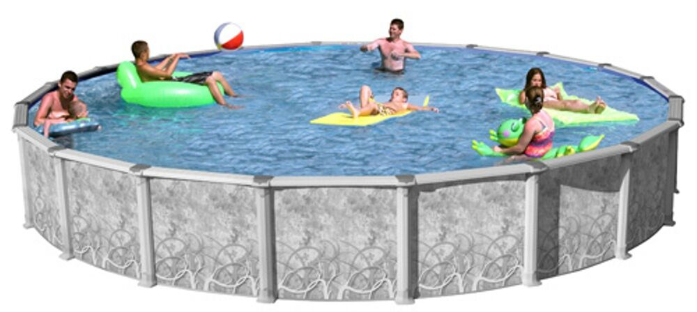 Swim N Play Round 24 39 X 54 Above Ground Hybrid Swimming Pool Complete Package Ebay