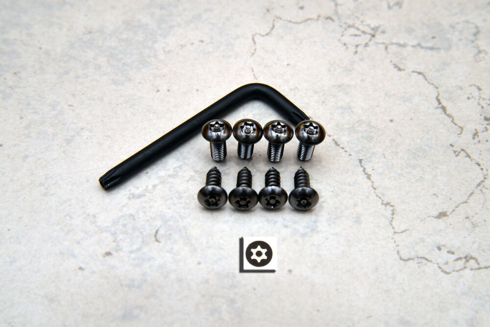 Anti Theft Black Security Screws For Bmw Front Amp Rear