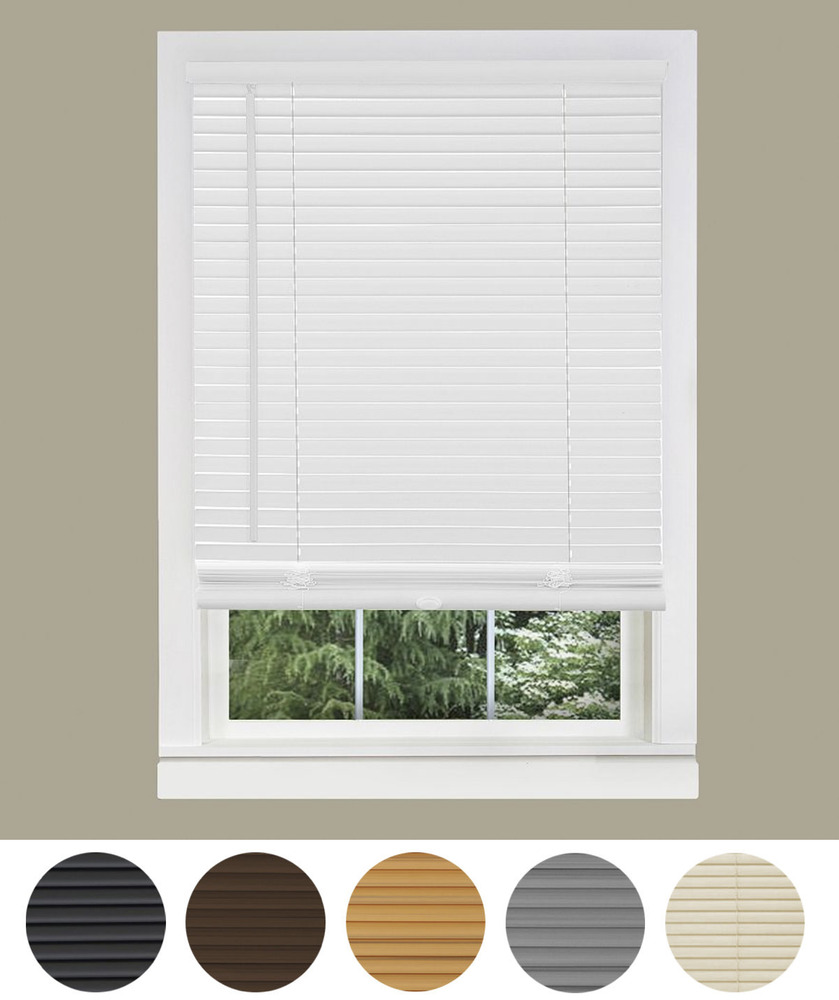 Premium Vinyl Venetian Window Mini Blinds Assorted