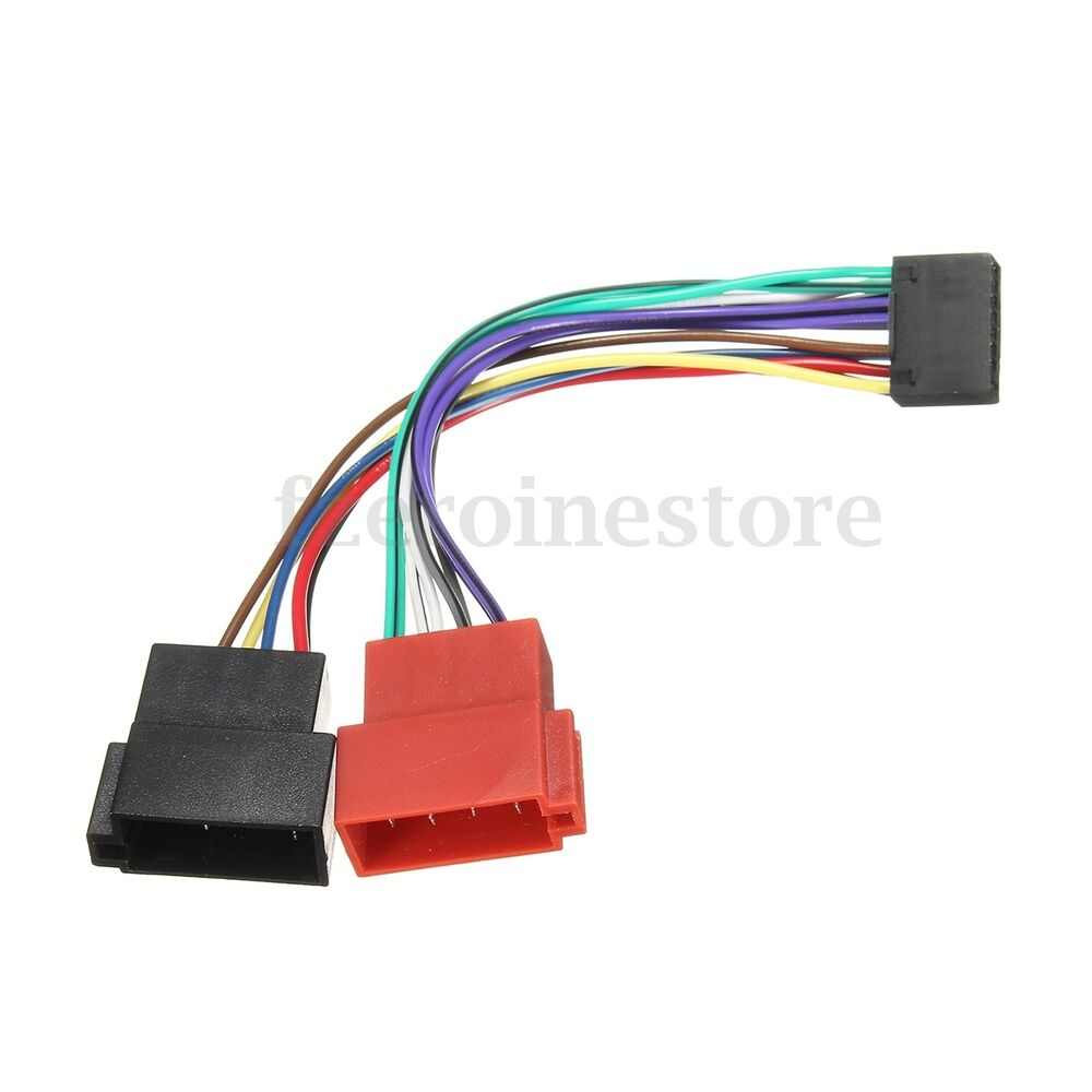 16 pin car stereo radio iso wiring harness connector. Black Bedroom Furniture Sets. Home Design Ideas
