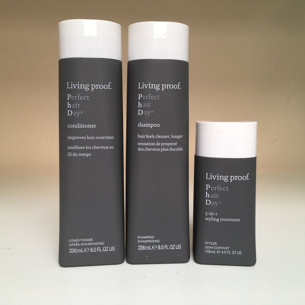 Living Proof Perfect Hair Day Shampoo Conditioner 8 Oz Styling