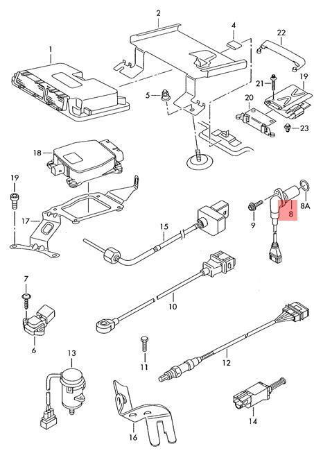 Genuine Crankshaft Pulse Sensor Vw Beetle Cabrio Golf R32 Gti Rabbit