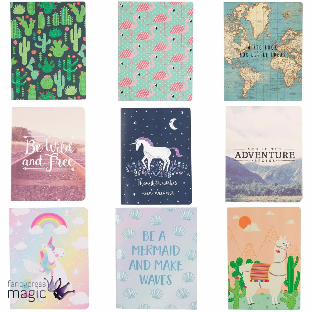 Sass & Belle Notebook Note Book Pad Plain Journal Jotter Diary Sketch Home  Gift | eBay