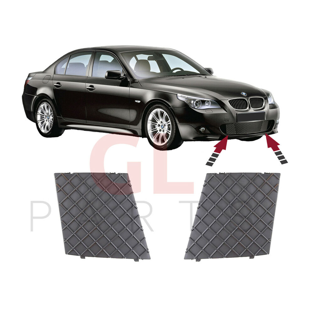 bmw e60 e61 m paket gitter grill blende vorne sto stange. Black Bedroom Furniture Sets. Home Design Ideas