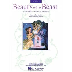 Kyпить Beauty and the Beast Sheet Music Piano Solo NEW 000292037 на еВаy.соm