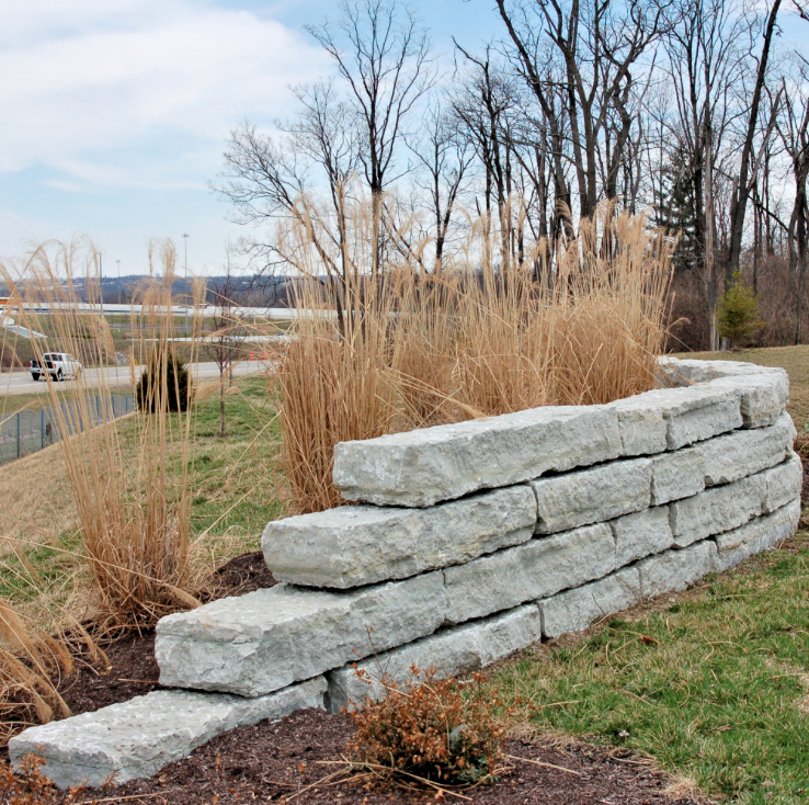 Build A Long Lasting Block Retaining Wall: WALLSTONE! Large Stackable Blocks & Slabs~For Building