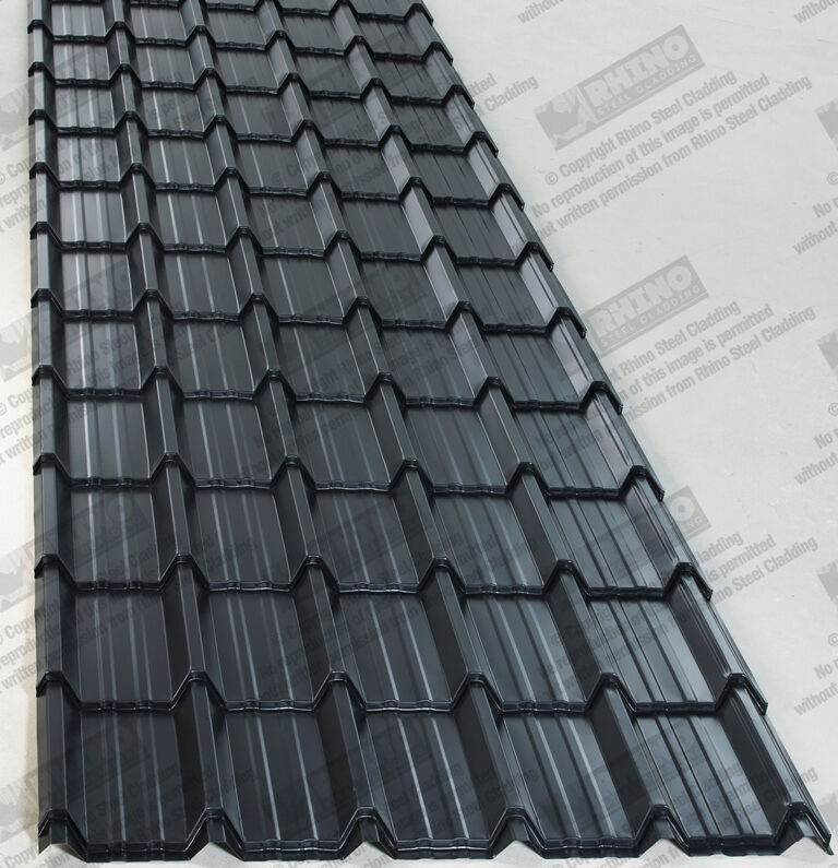 Tiled Metal Roof Sheets Polyester Painted Steel Metal