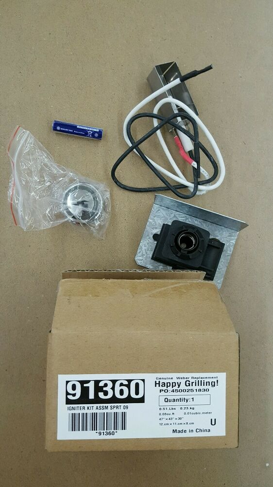 Genuine Weber Gas Grill Replacement Igniter Kit