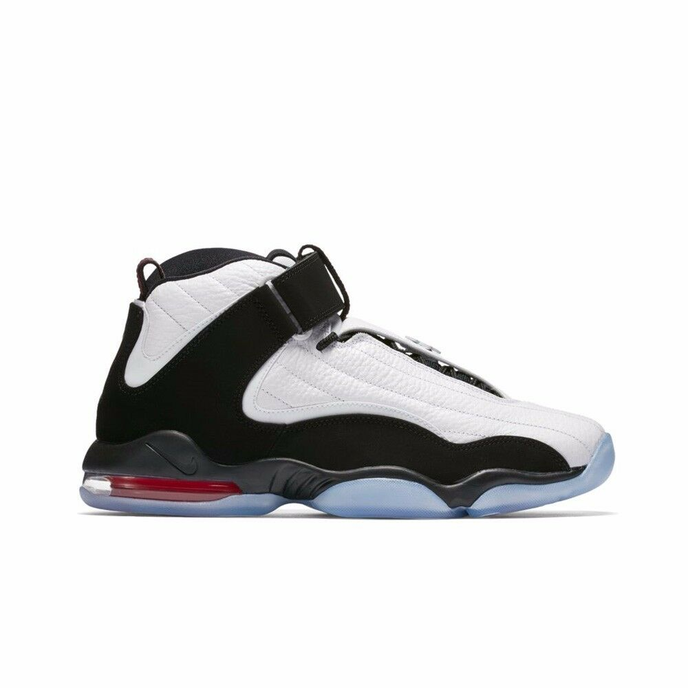 Air Nike 864018 4 True whiteblack Basketball 101 Red Penny Iv wOFX6