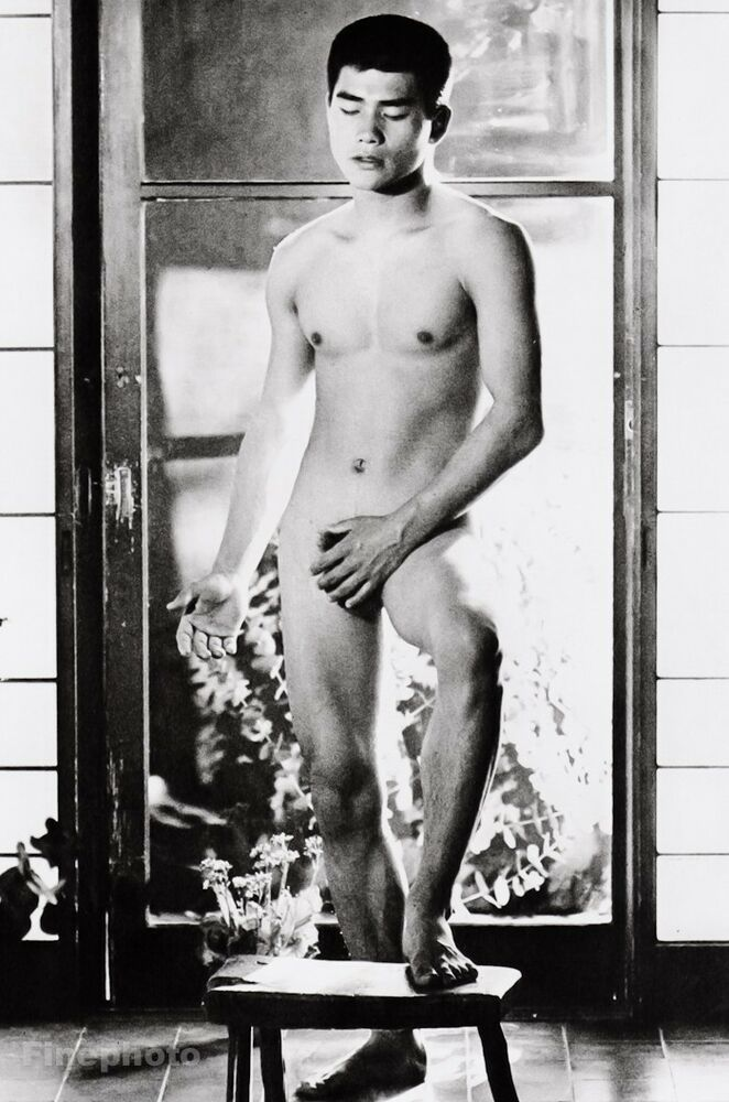 1960S Vintage Japanese Male Nude Asian Photo Art Gay -2187