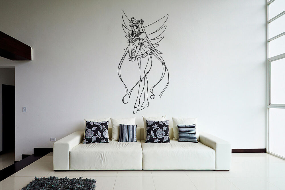 wall vinyl sticker decal anime manga sailor moon girl vy200