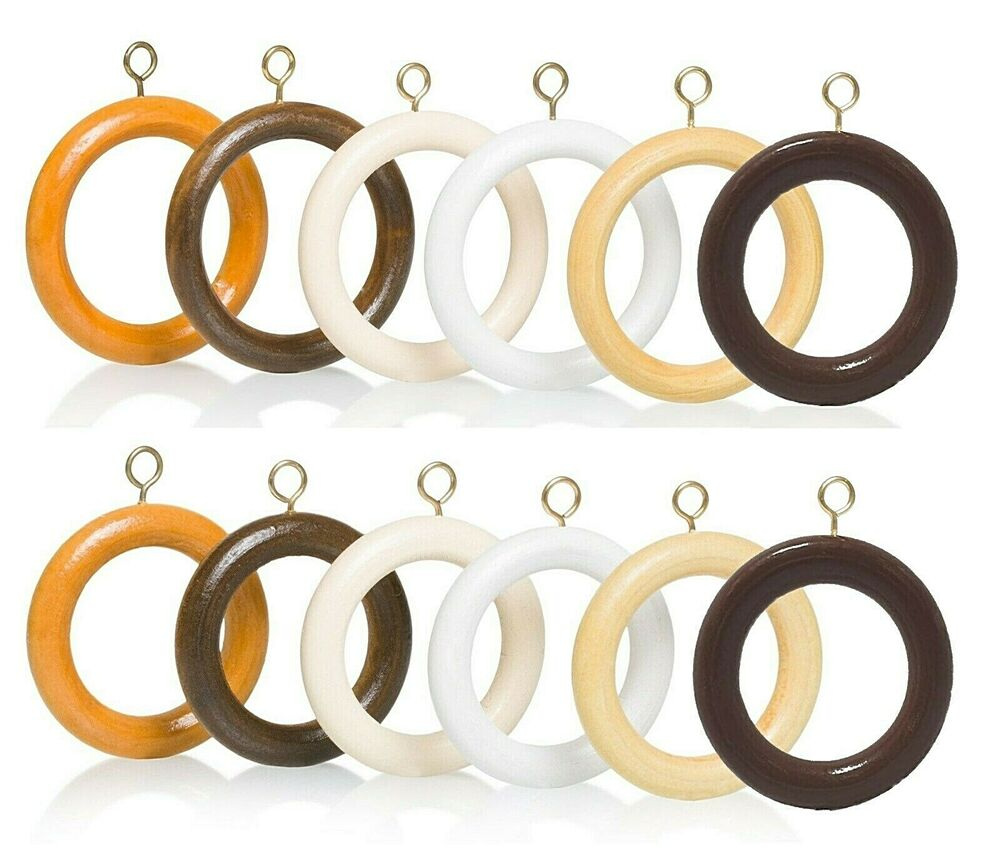 Wooden Curtain Rings Wood