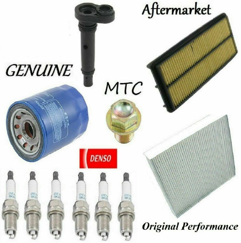 Tune Up Kit Cabin Air Oil Filters PCV Valve Plugs For