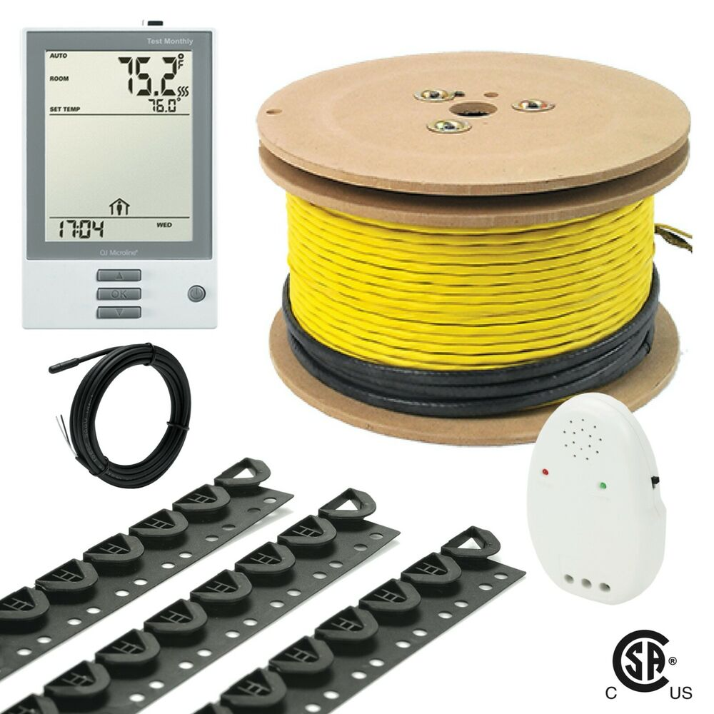 240v Udg Electrical Radiant Warming Floor Heating Cable