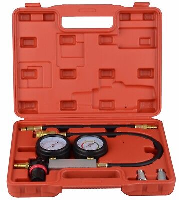 Petrol Engine Compression Leakage Leakdown Detector Cylinder Leak Tester Kits