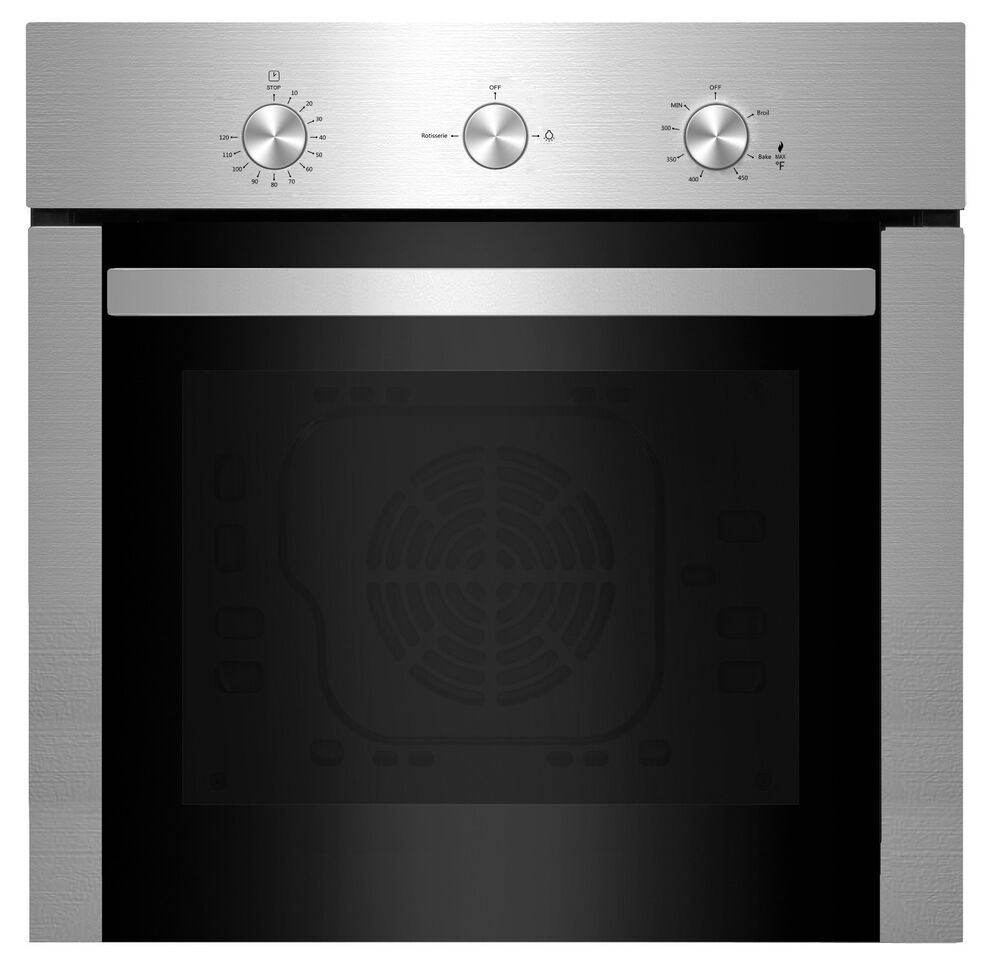 Empava 24 Quot Stainless Steel Built In Gas Single Wall Ovens