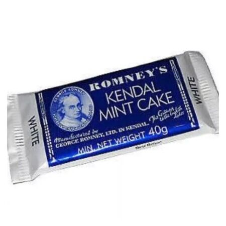 img-ROMNEYS KENDAL MINT CAKE BAR 40g Bushcraft Hiking Survival Kit Ration Pack Food