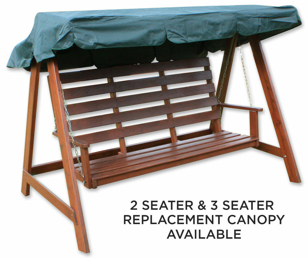 Woodside Green 2 Amp 3 Seater Garden Swing Chair Replacement