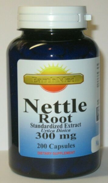 Stinging Nettle Root Standardized Extract 300mg 200 Capsules Urtica Dioica