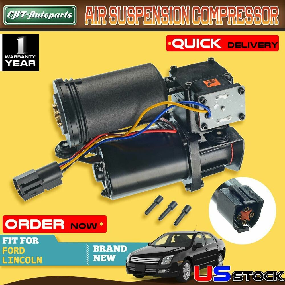 2012 Lincoln Navigator L Suspension: Air Ride Suspension Compressor For Ford Expedition 97-06