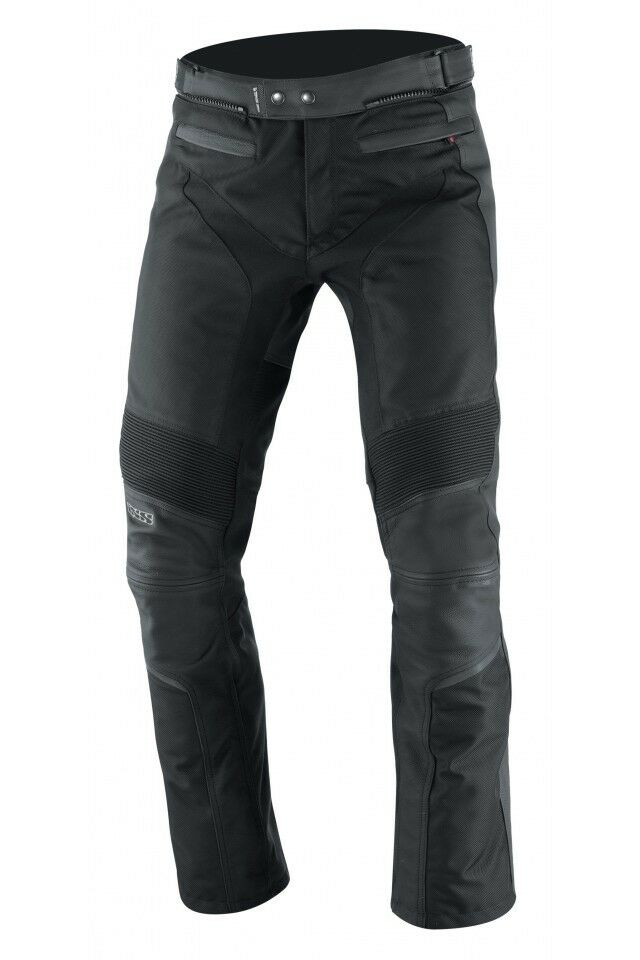 moto pants mens. ixs malaga leather motorcycle pants black men\u0027s moto mens