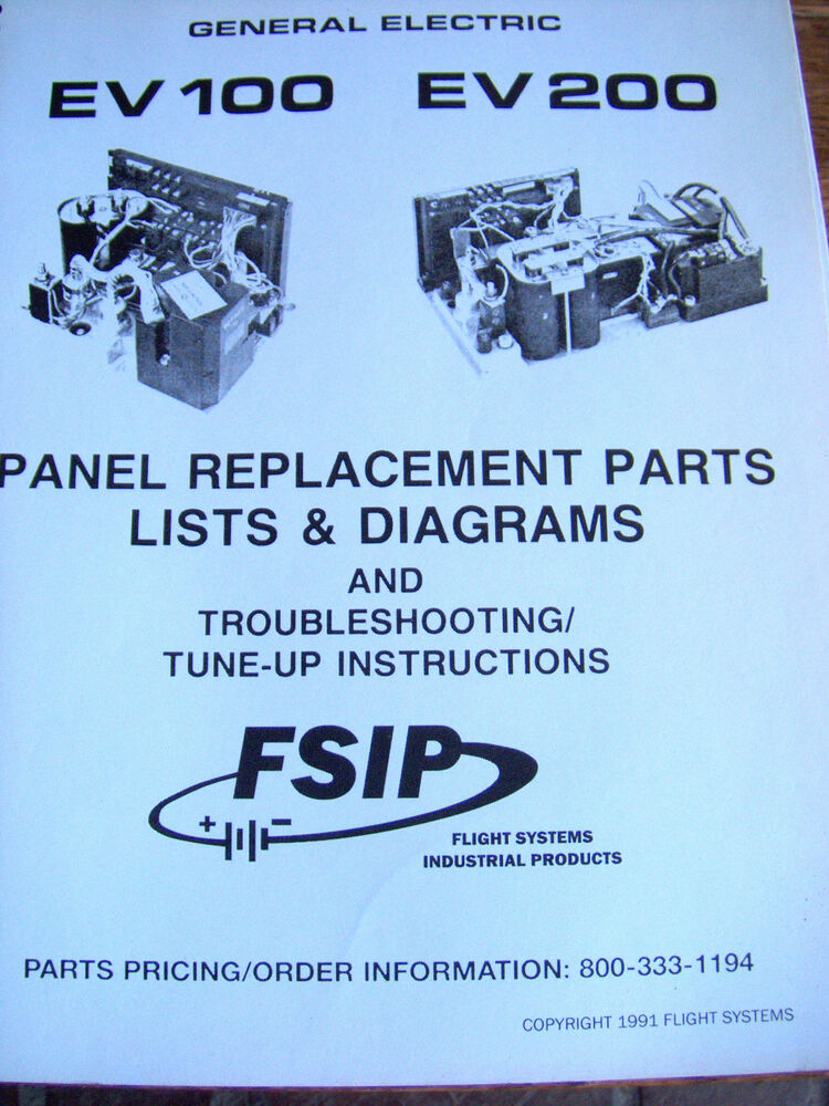 Ge Electric Ev 100 200 Panel Replacement Parts Lists Diagrams. Ge Electric Ev 100 200 Panel Replacement Parts Lists Diagrams Fsip Lot 755 Ebay. Wiring. General Electric Motor Parts Schematic At Scoala.co